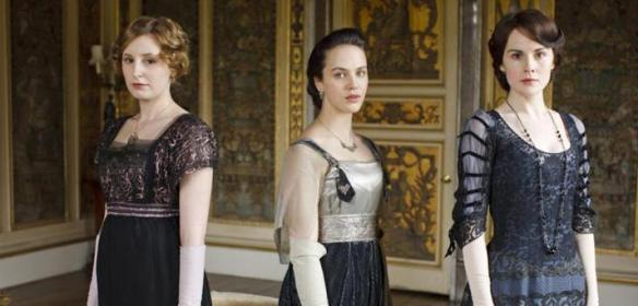 A sample of Downton costumes. (Source: Deleware Tourism