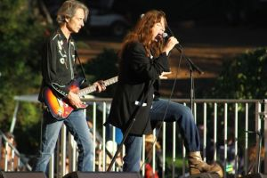 Patti Smith at the HSBF in Golden Gate Park. (Source: sfgate.com)