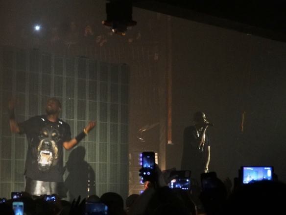 Kanye and Jay-Z put n an integrated, water-tight show..