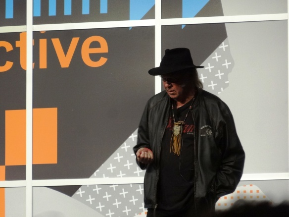 Neil Young talks taking back music sound quality and PonoMusic